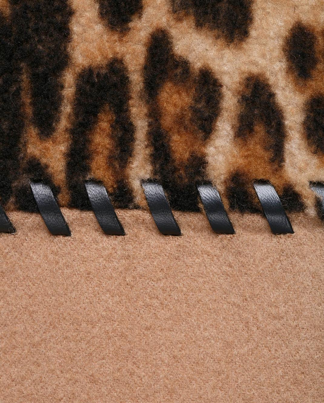 Yves Salomon Бежевое пальто из шерсти и кашемира 8WYM00590CDPL изображение 5