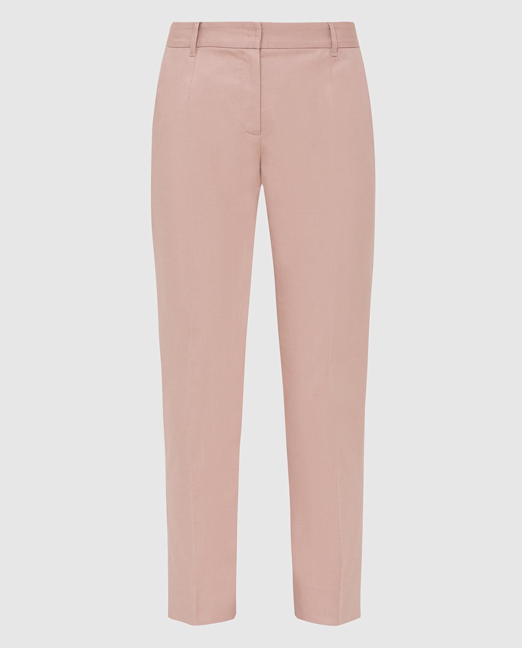 Dolce&Gabbana Розовые брюки FTAGNTFUFGD