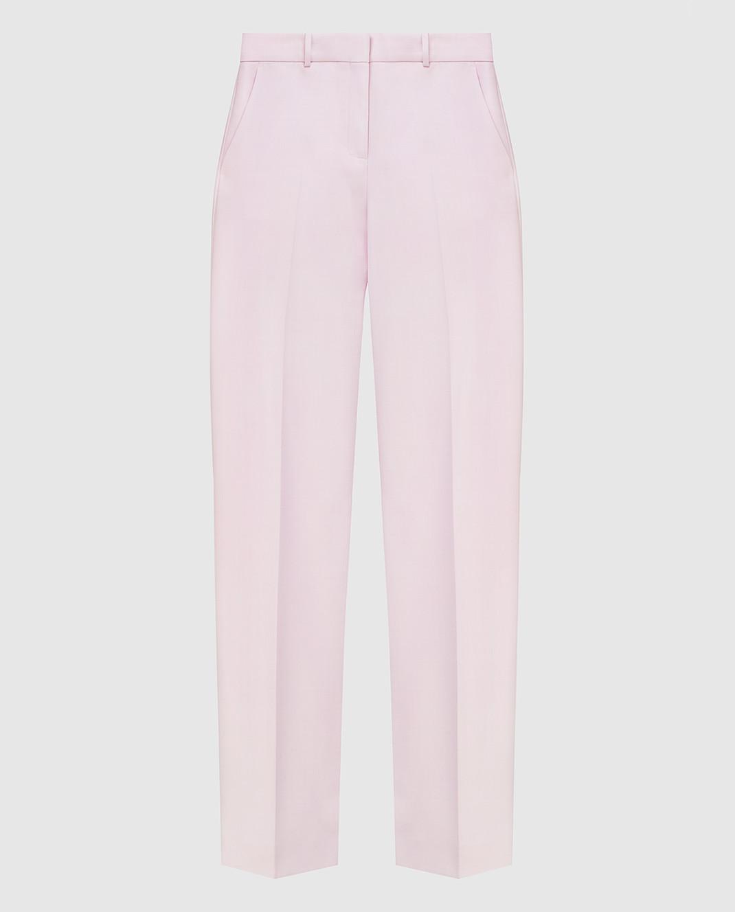 Victoria by Victoria Beckham Розовые брюки TRVV097