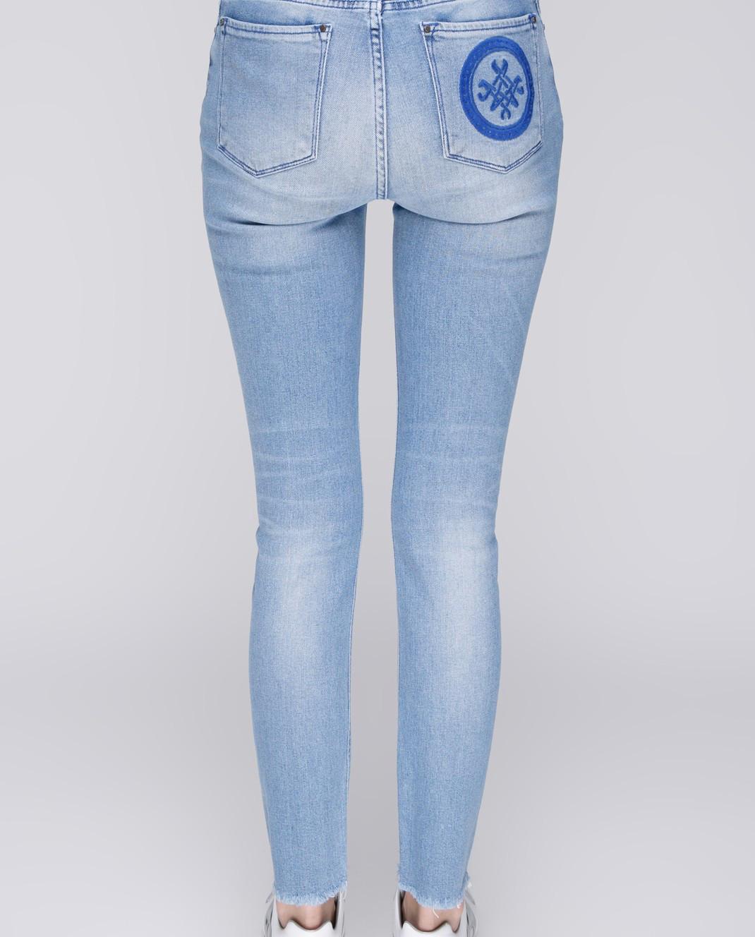 Mr&Mrs Italy Голубые джинсы JE040 изображение 4