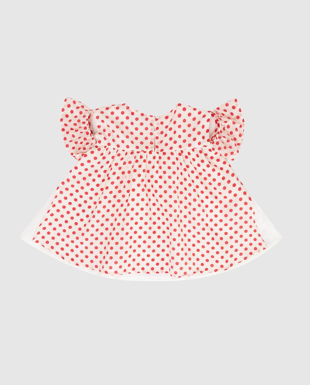 Twin Set Детская белая блуза FS82PN изображение 2