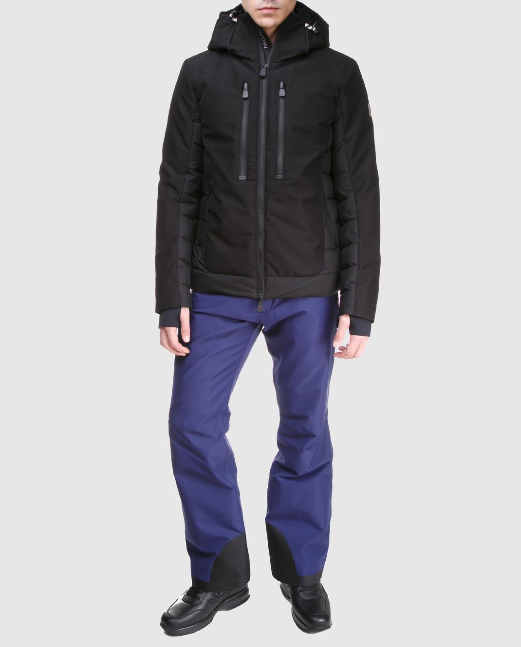 Moncler Grenoble Синие лыжные брюки 11410 изображение 2