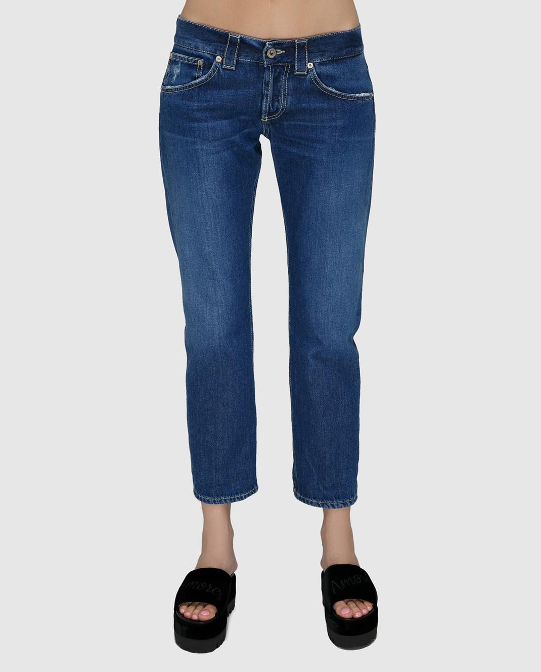 Dondup Синие джинсы P857DF142DO67 изображение 3