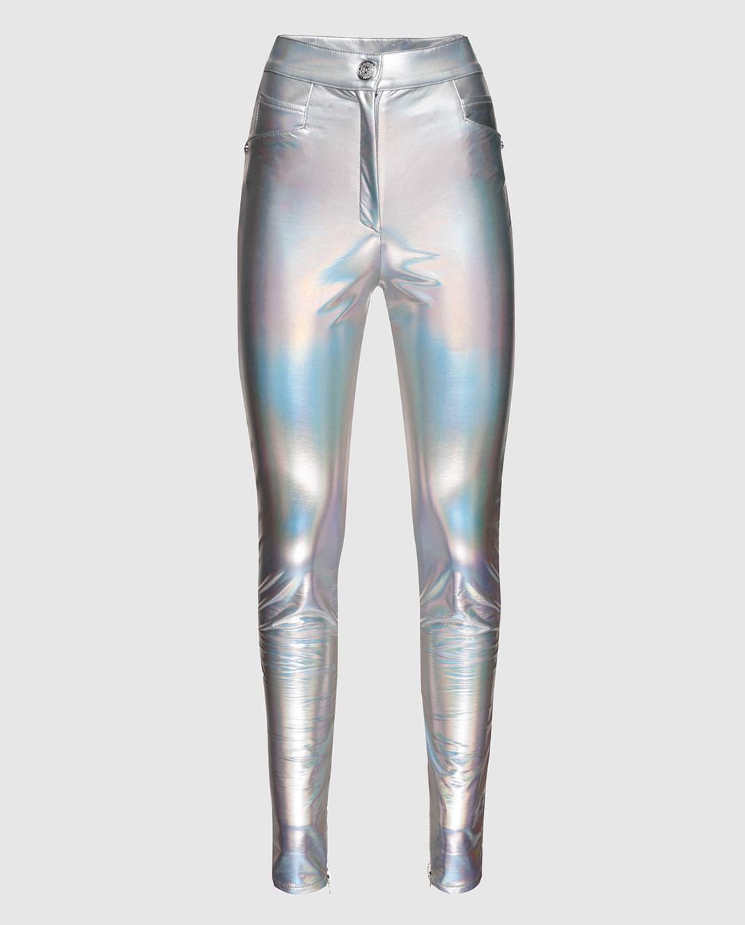 Balmain Серебристые брюки изображение 1
