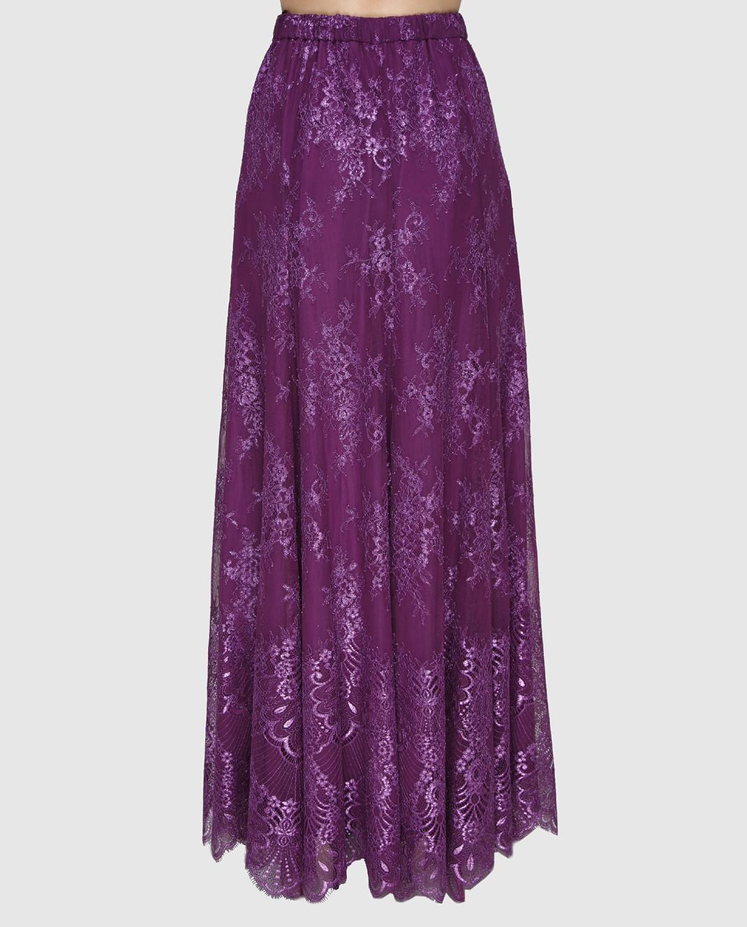 Philosophy di Lorenzo Serafini Фиолетовая юбка A0117 изображение 4