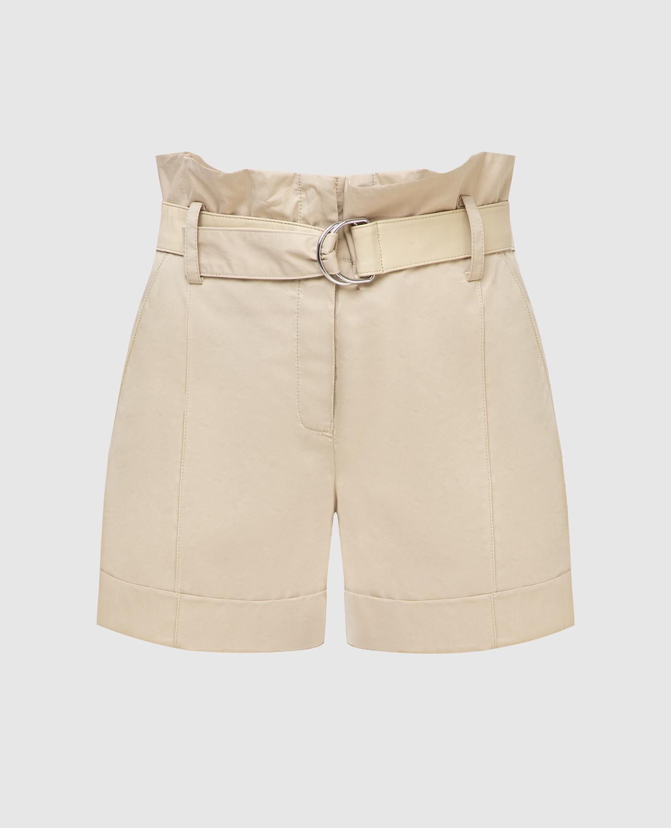 Бежевые шорты Yves Salomon