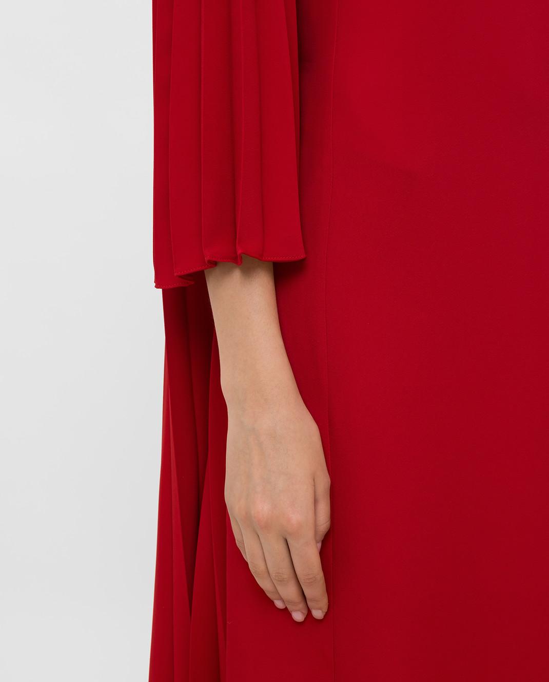 Valentino Красное платье SB3VAN104NK изображение 5
