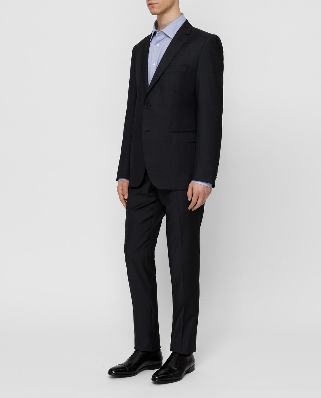 Fradi Тёмно-синий костюм 192AJ7025944 изображение 3