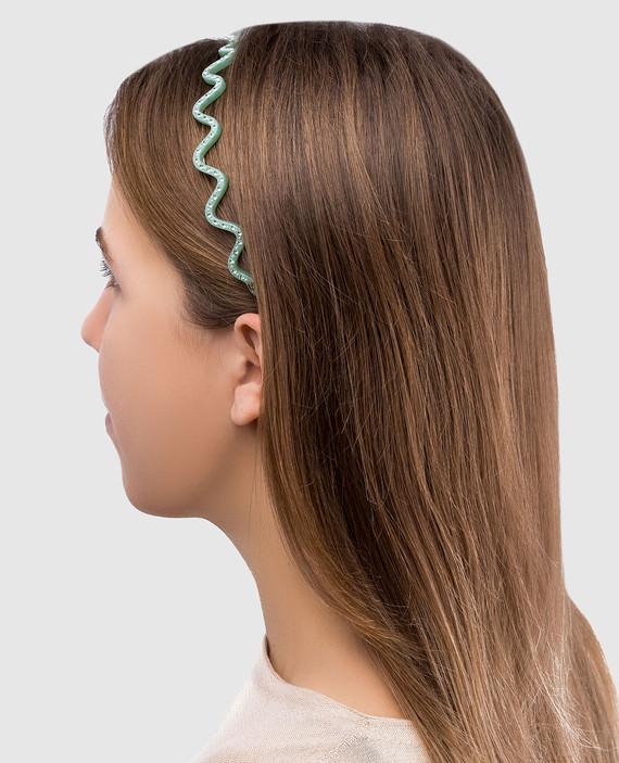 Салатовый обруч для волос ILeDeRe hover