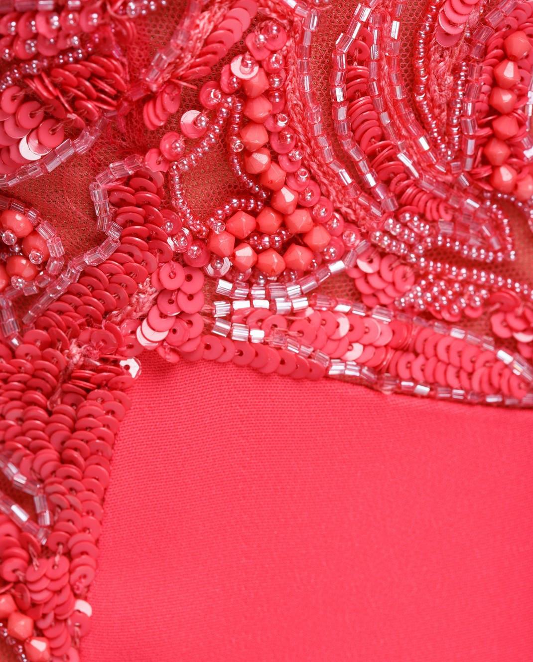 Zuhair Murad Розовое платье RDPF15029DL99 изображение 5
