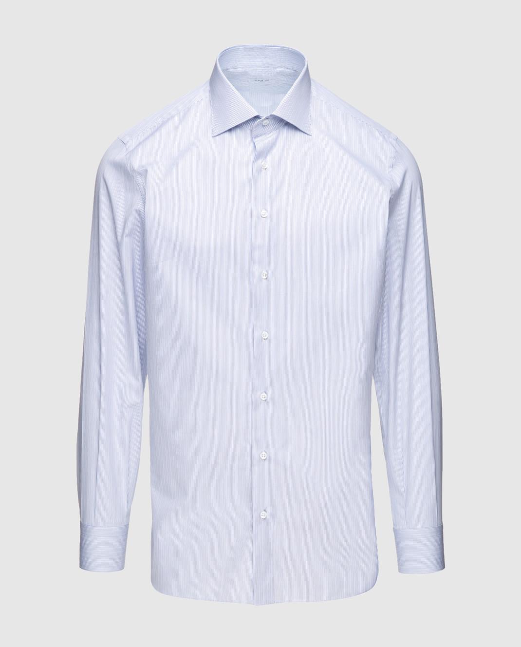 Marol Голубая рубашка 9808