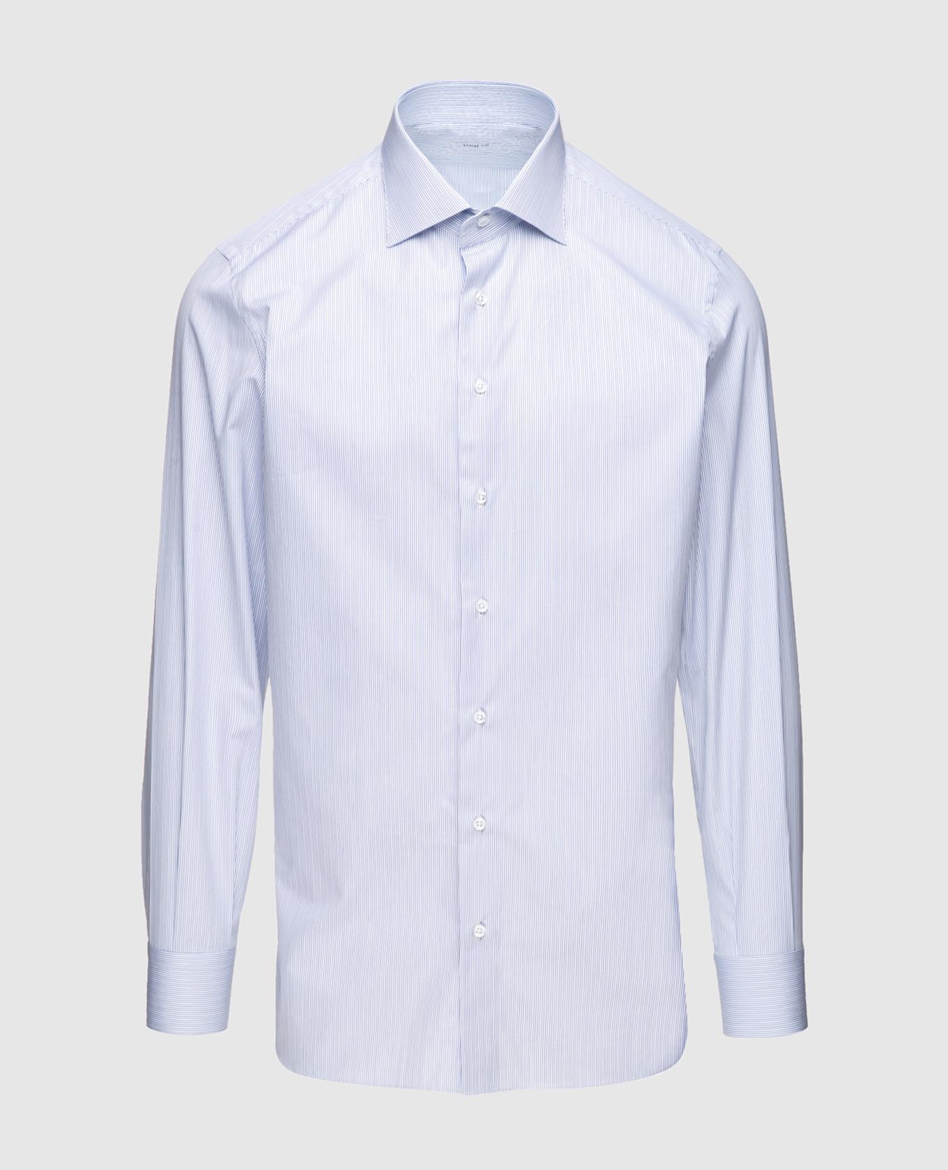 Голубая рубашка