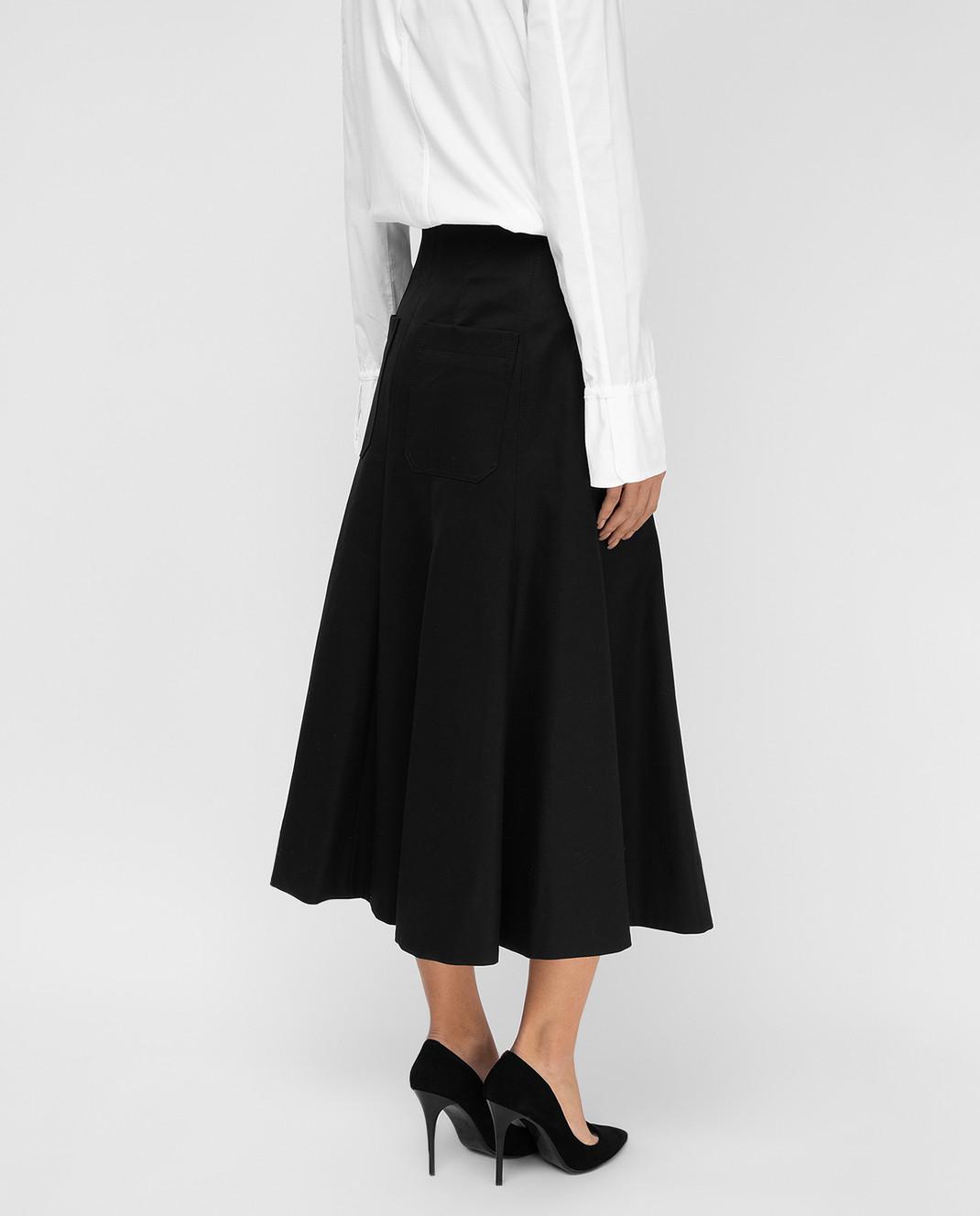 Balenciaga Черная юбка 426418 изображение 4