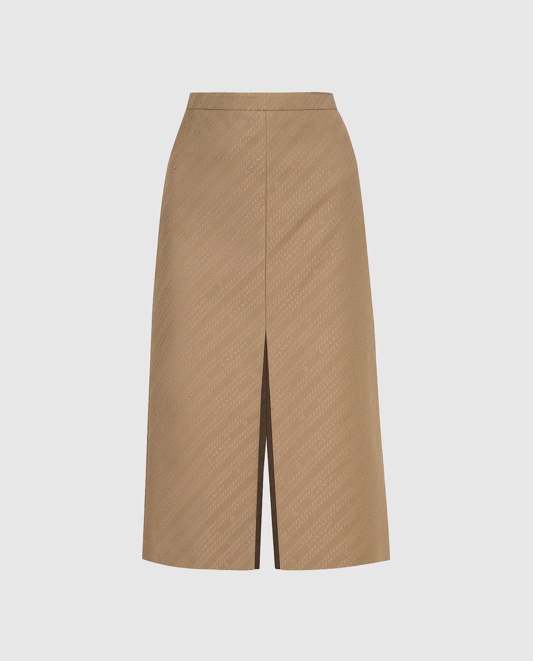 Givenchy Бежевая юбка изображение 1