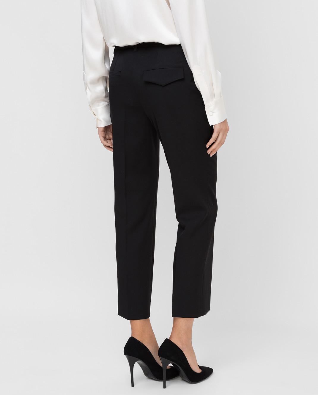 Lanvin Черные брюки из шерсти изображение 4