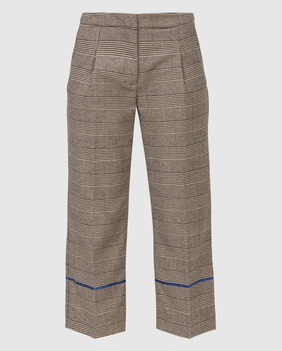 Ermanno Бежевые брюки изображение 1