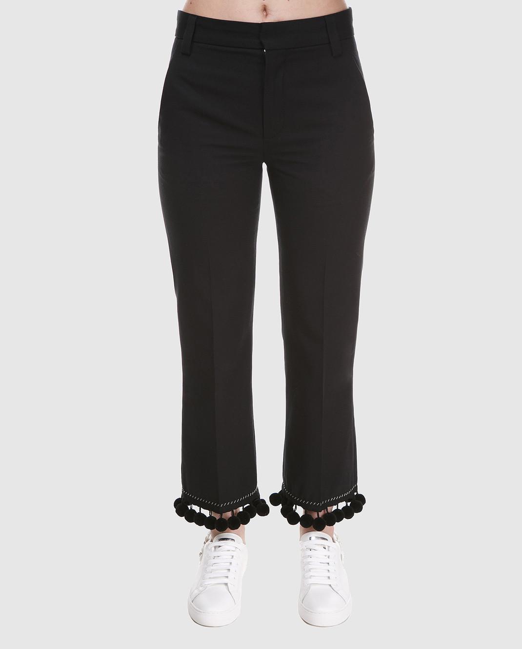 Marc Jacobs Черные брюки M4007136 изображение 3