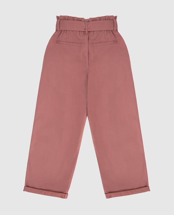 Детские розовые брюки hover