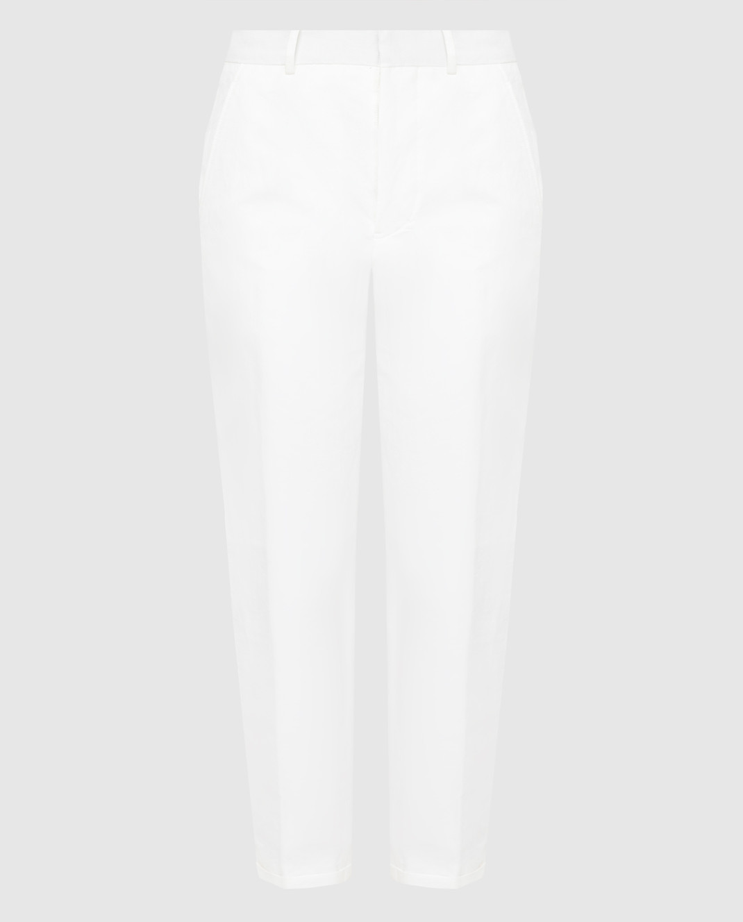 Marni Белые брюки PAMAR09MU1TL234