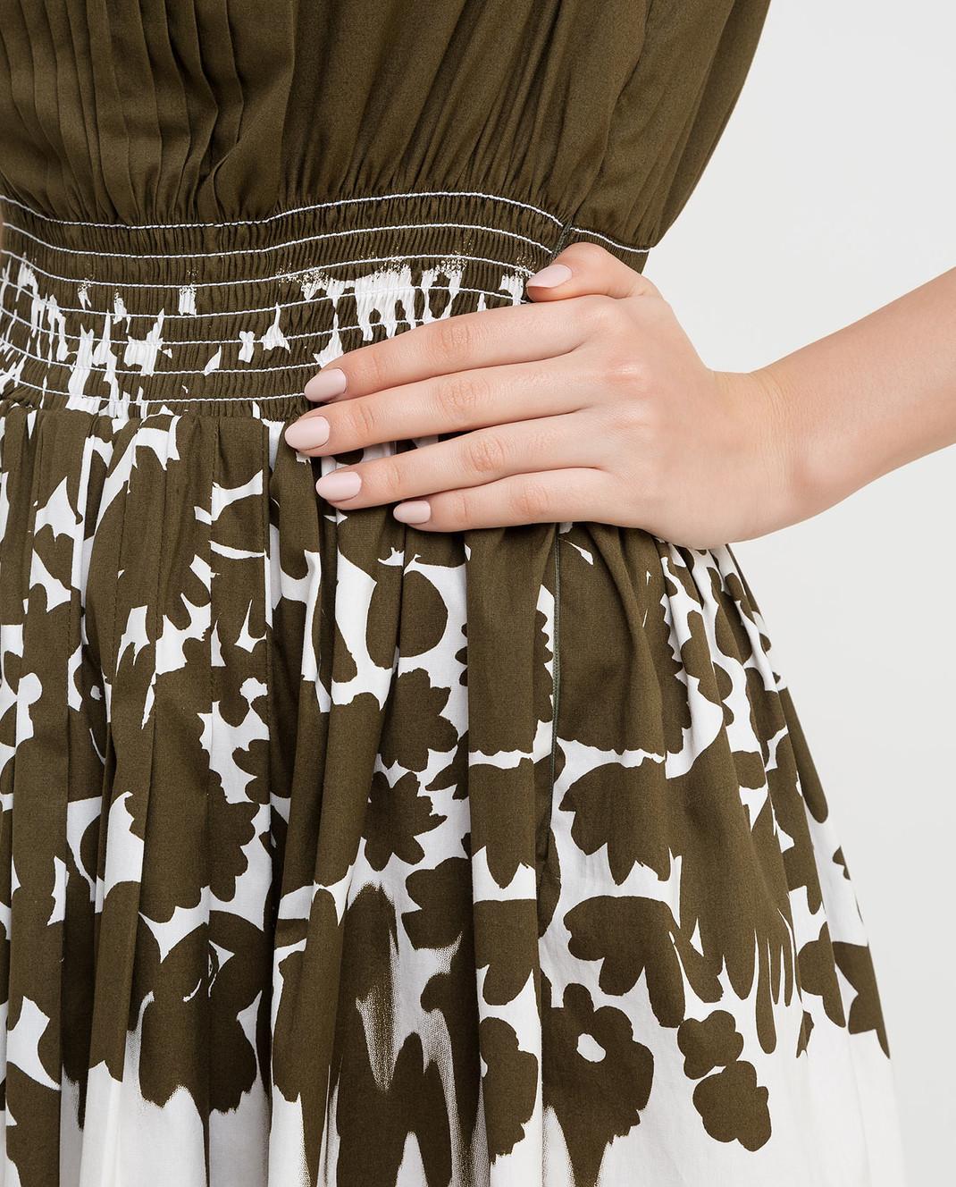 Prada Зеленое платье P32U7R изображение 5