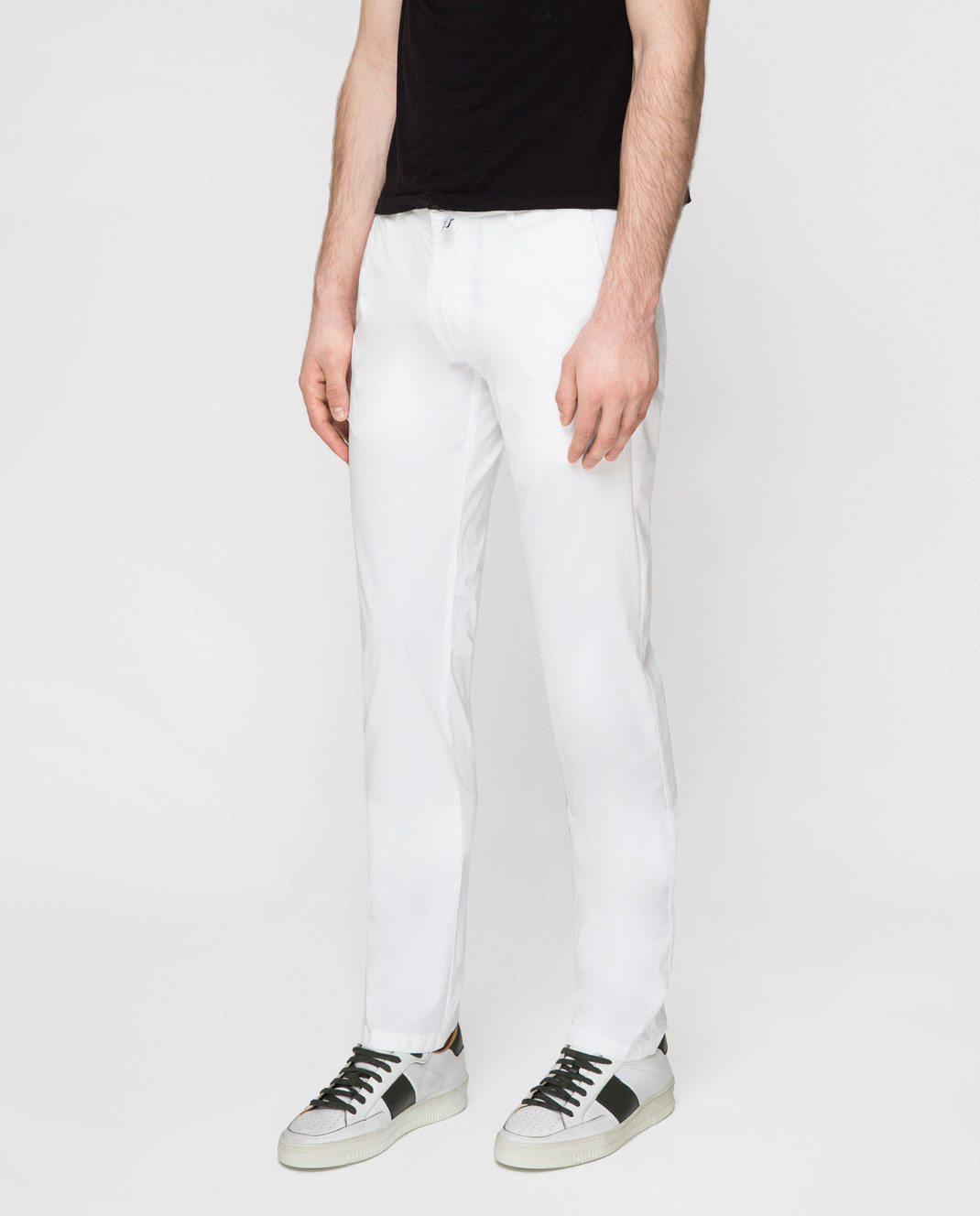 Kiton Белые брюки UPCAPRJ07R90 изображение 3
