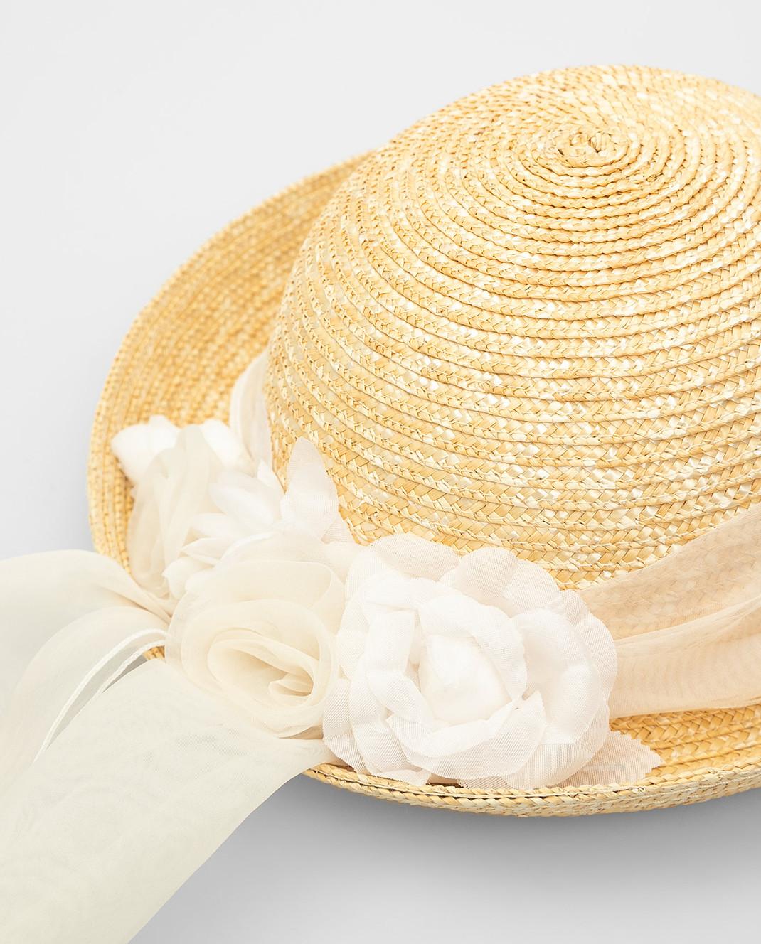 CAF Детская бежевая шляпа 020 изображение 3