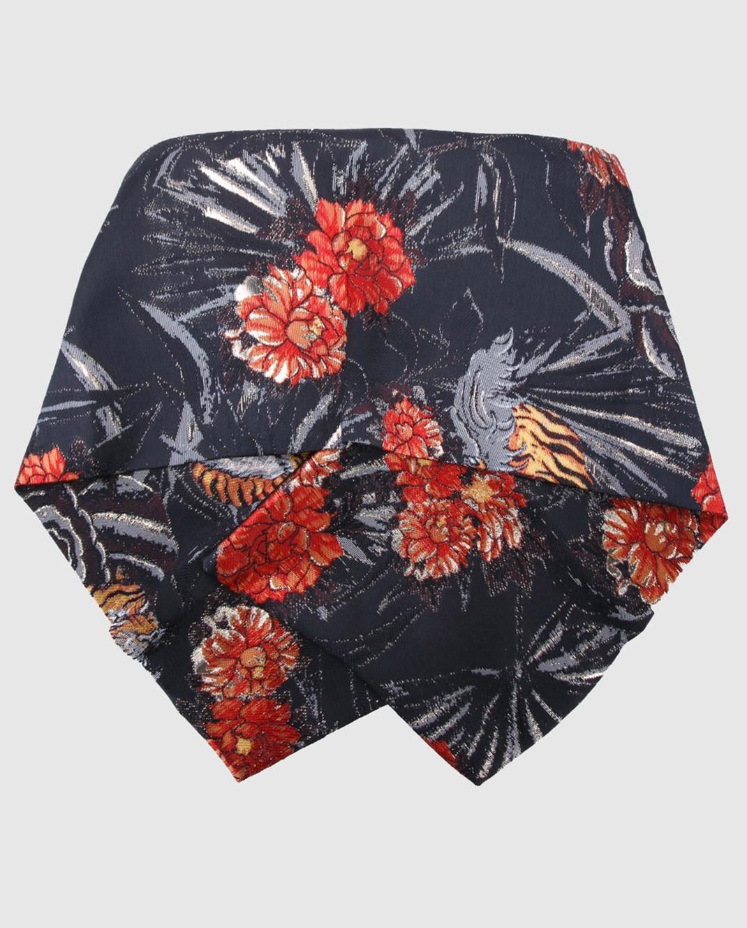 PAROSH Серый шарф изображение 2
