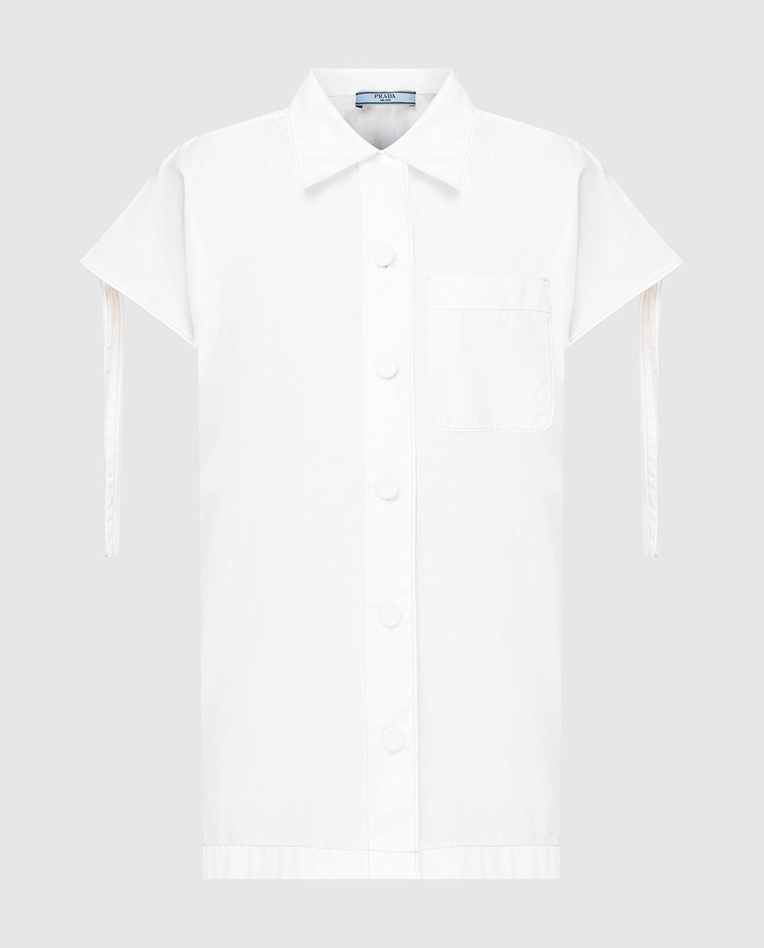 Prada Белая рубашка P469A