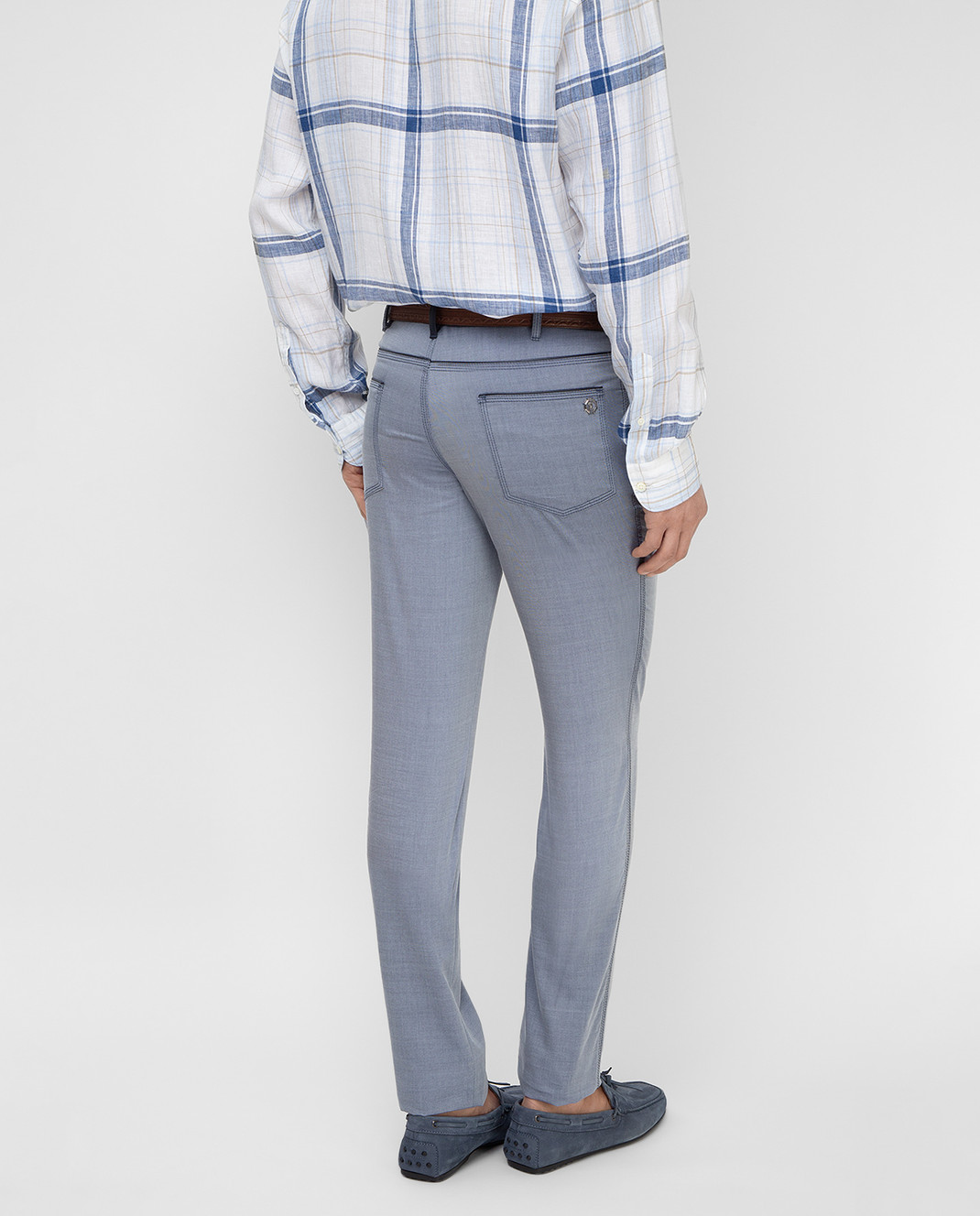 Stefano Ricci Голубые брюки MBT8100020 изображение 4