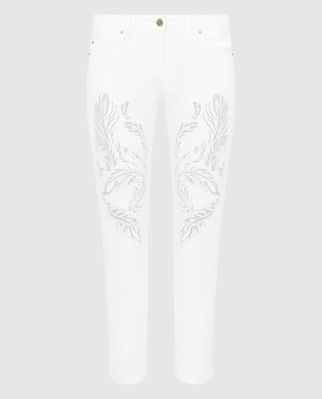 Roberto Cavalli Белые джинсы CQJ241