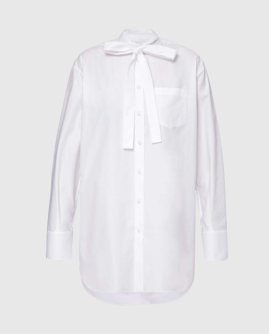 Valentino Белая рубашка RB3AB12U4F4