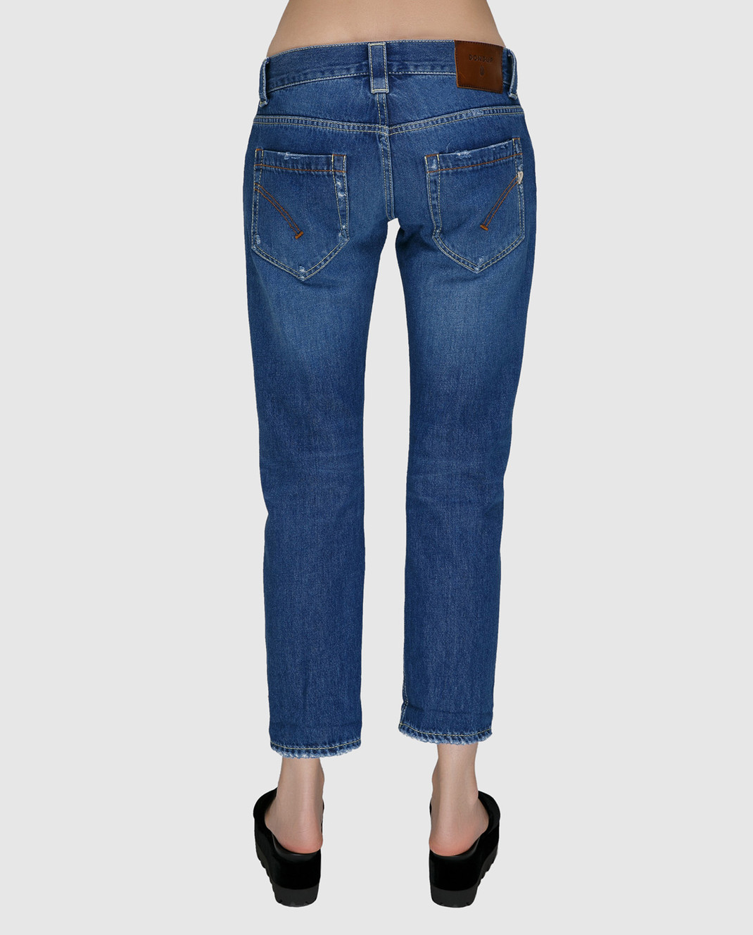 Dondup Синие джинсы P857DF142DO67 изображение 4