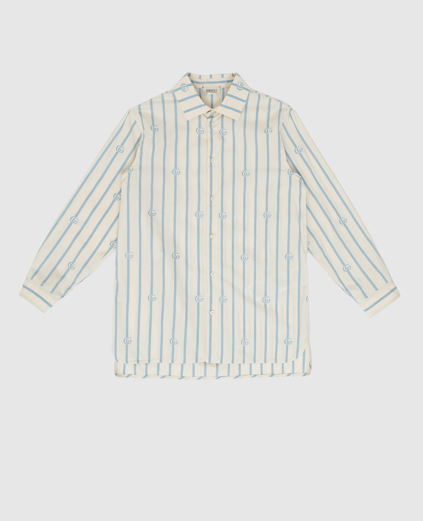 Детская светло-бежевая рубашка