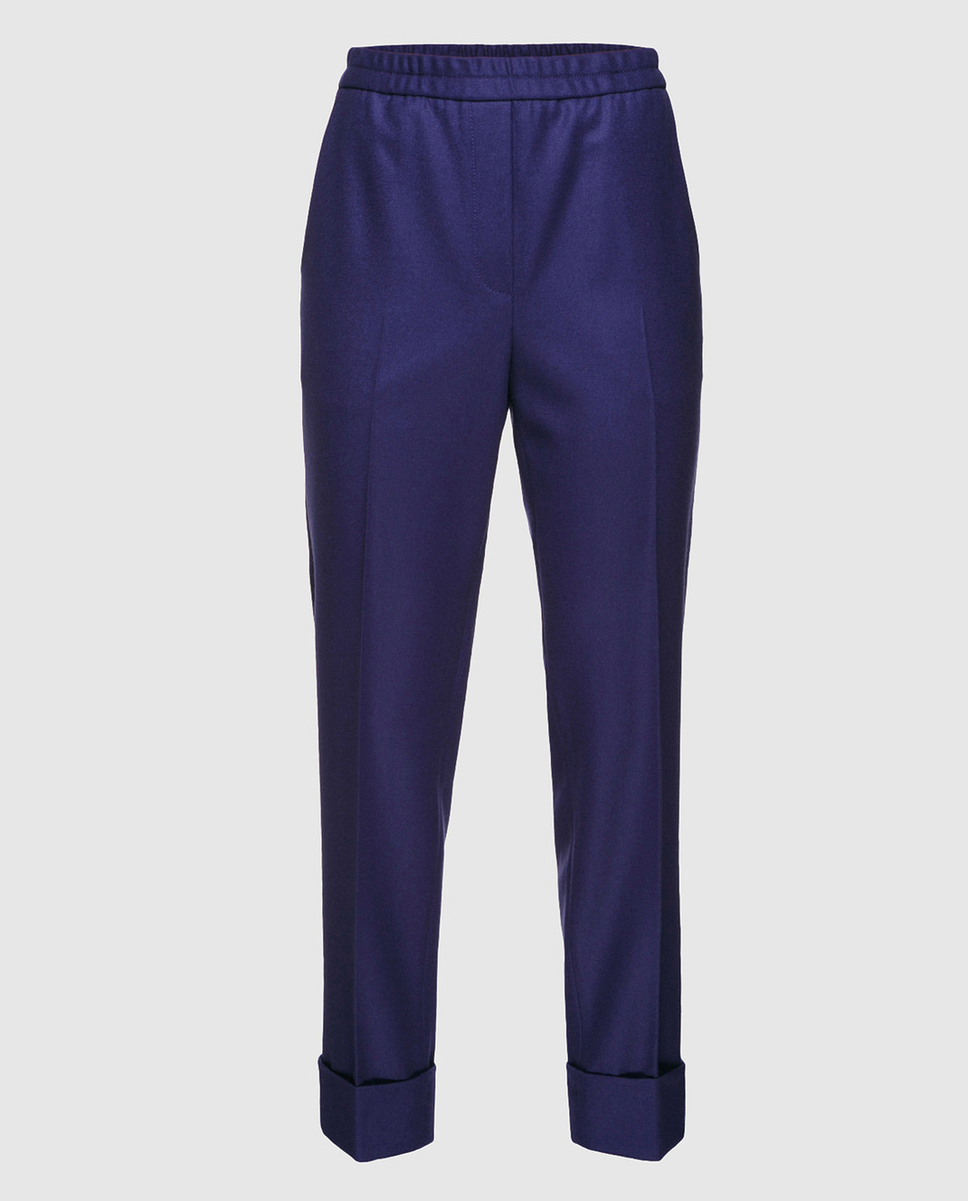 Bottega Veneta Синие брюки 513214