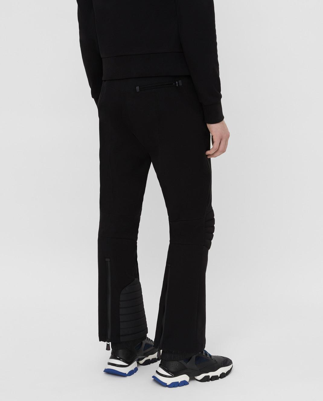 Moncler Grenoble Черные горнолыжные брюки изображение 4