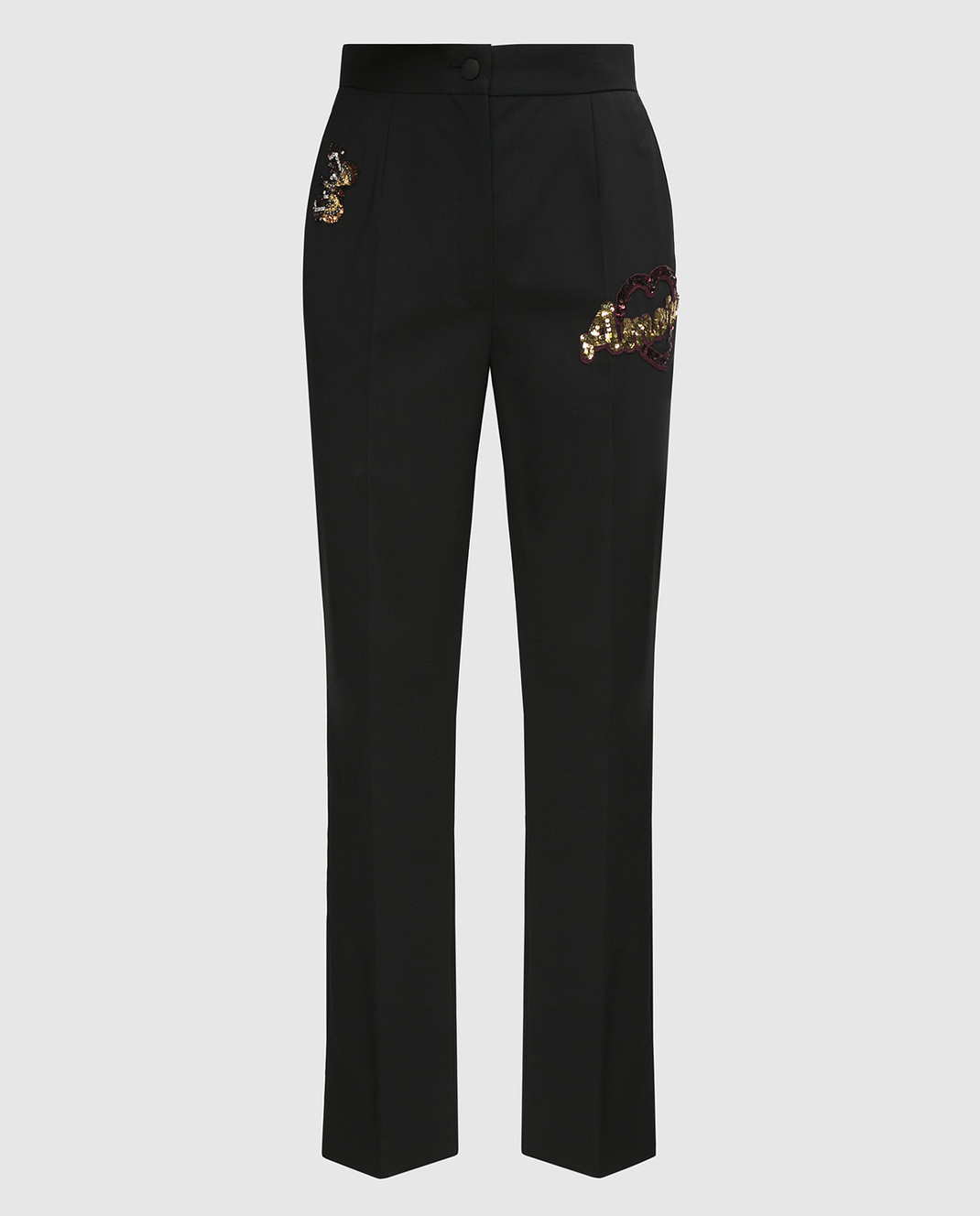 Dolce&Gabbana Черные брюки FTAM2ZFUBBG