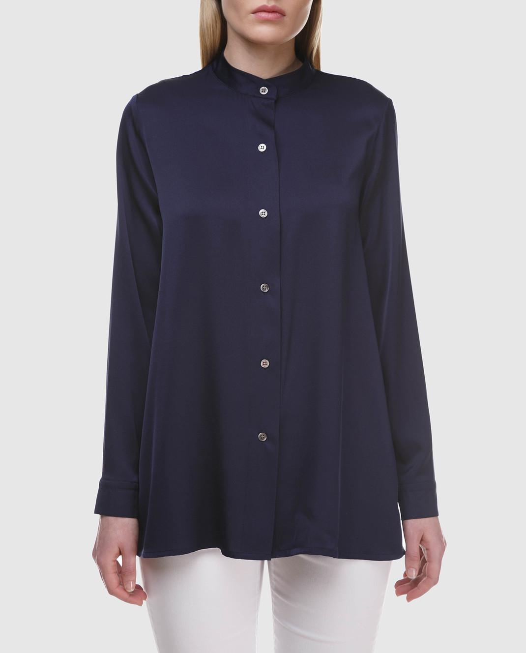 Allude Синяя блуза 18283003 изображение 3