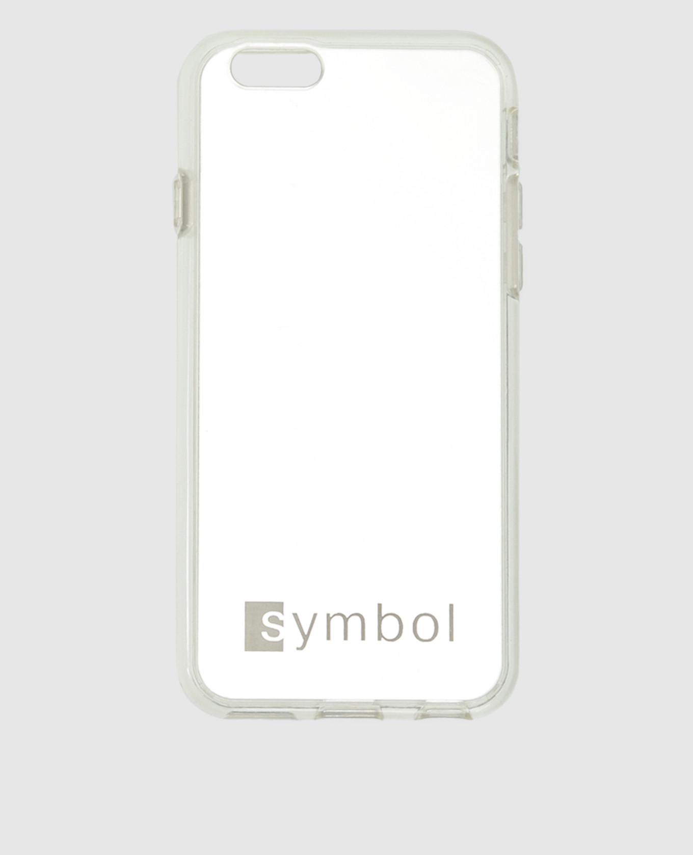 Серебристый чехол для iPhone
