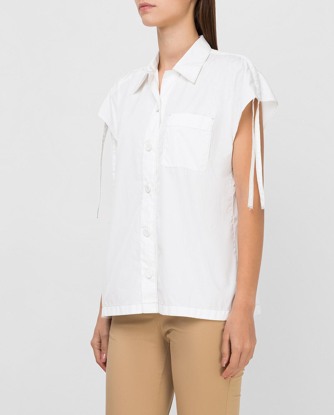 Prada Белая рубашка P469A изображение 3