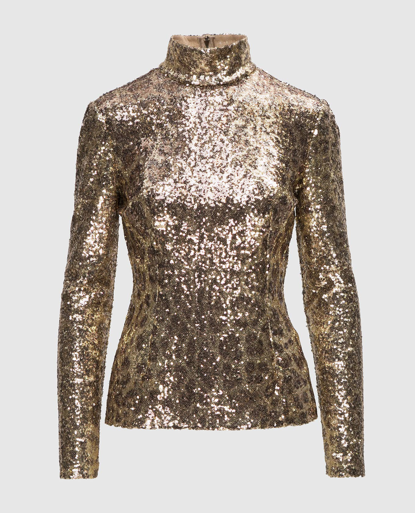 Золотистая блуза