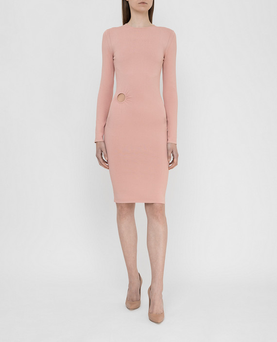 Розовое платье hover