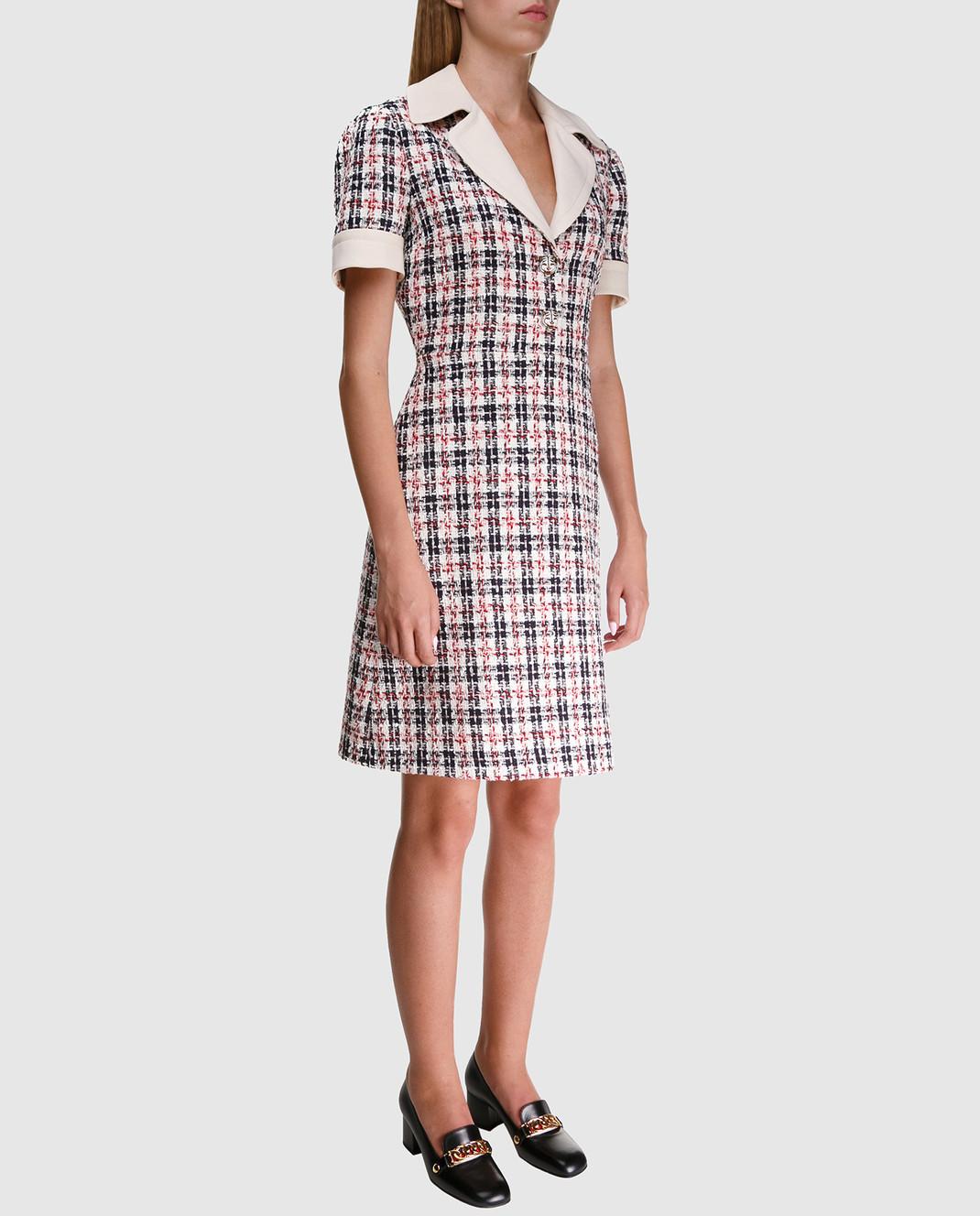 Gucci Твидовое платье 530704 изображение 2