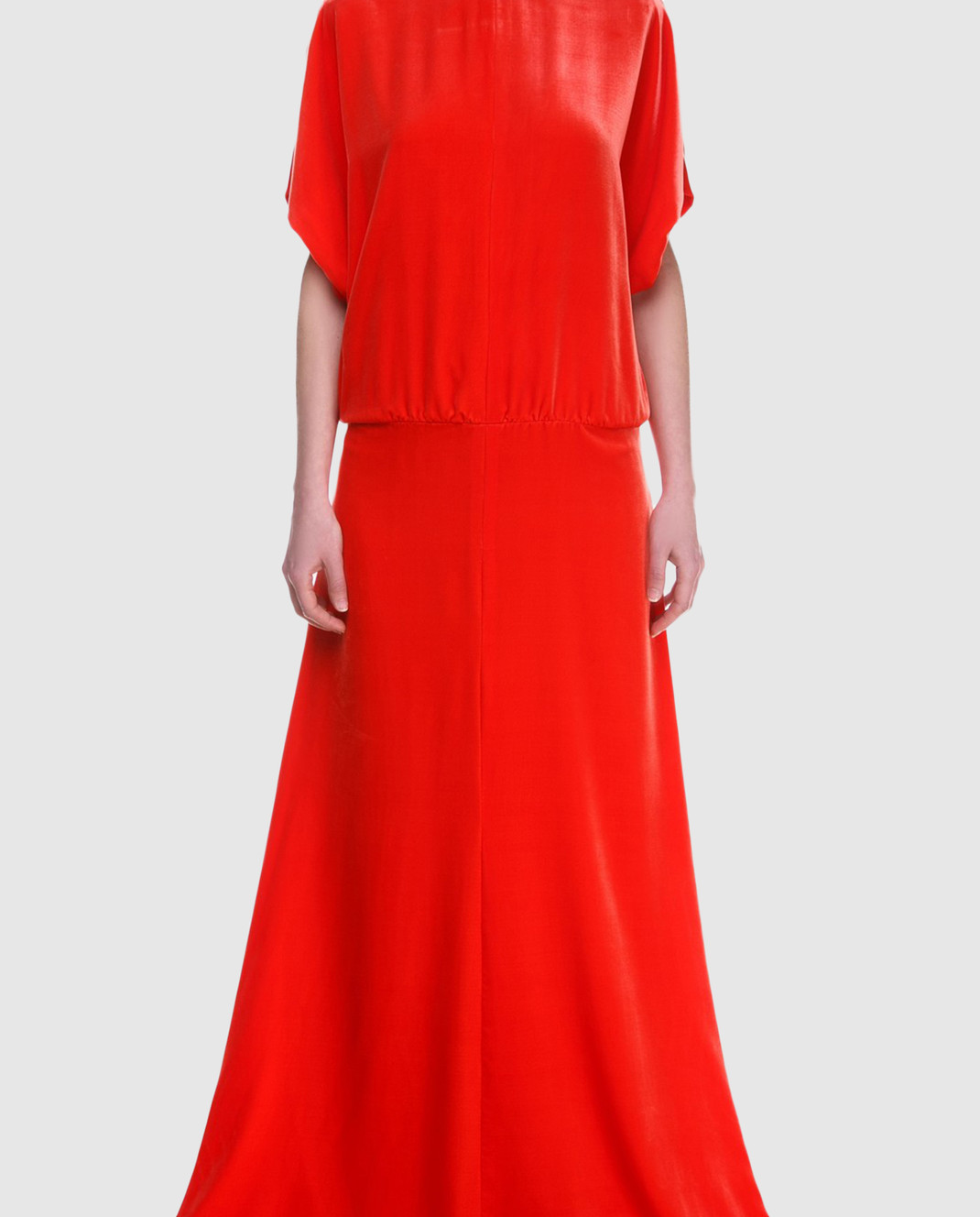 Valentino Красное платье PB0VD7E53TF изображение 3
