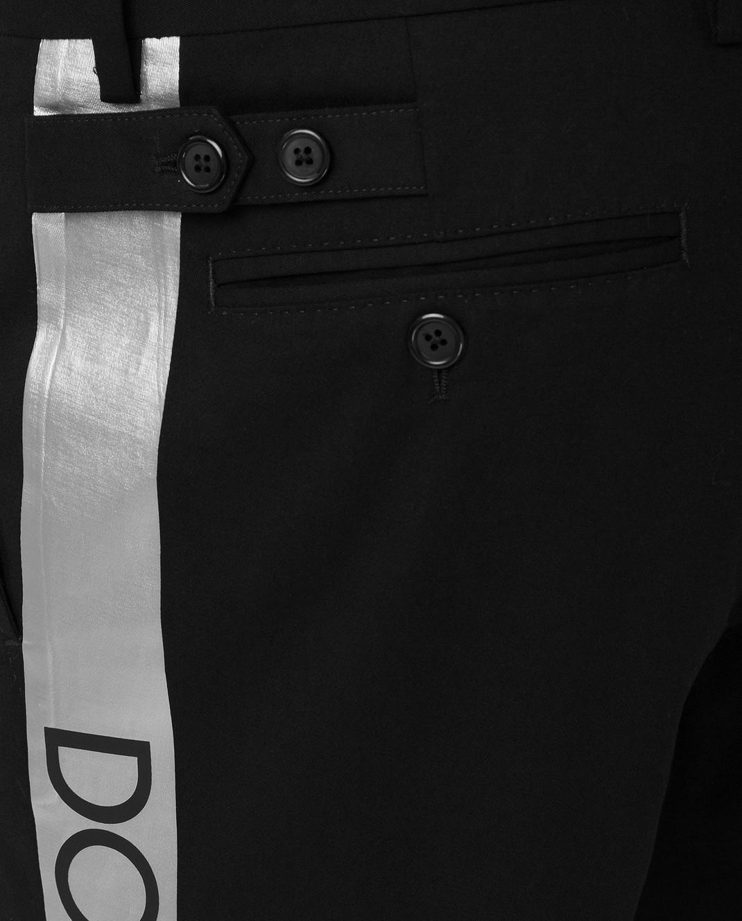 Dolce&Gabbana Черные брюки GYHGETFUFHT изображение 5
