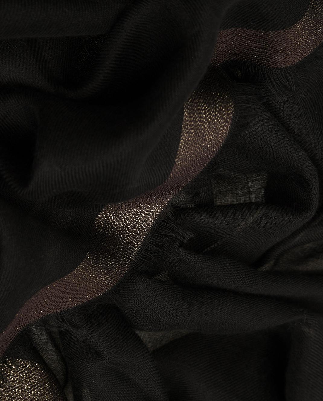 Loro Piana Черный платок F3FAF4532 изображение 3