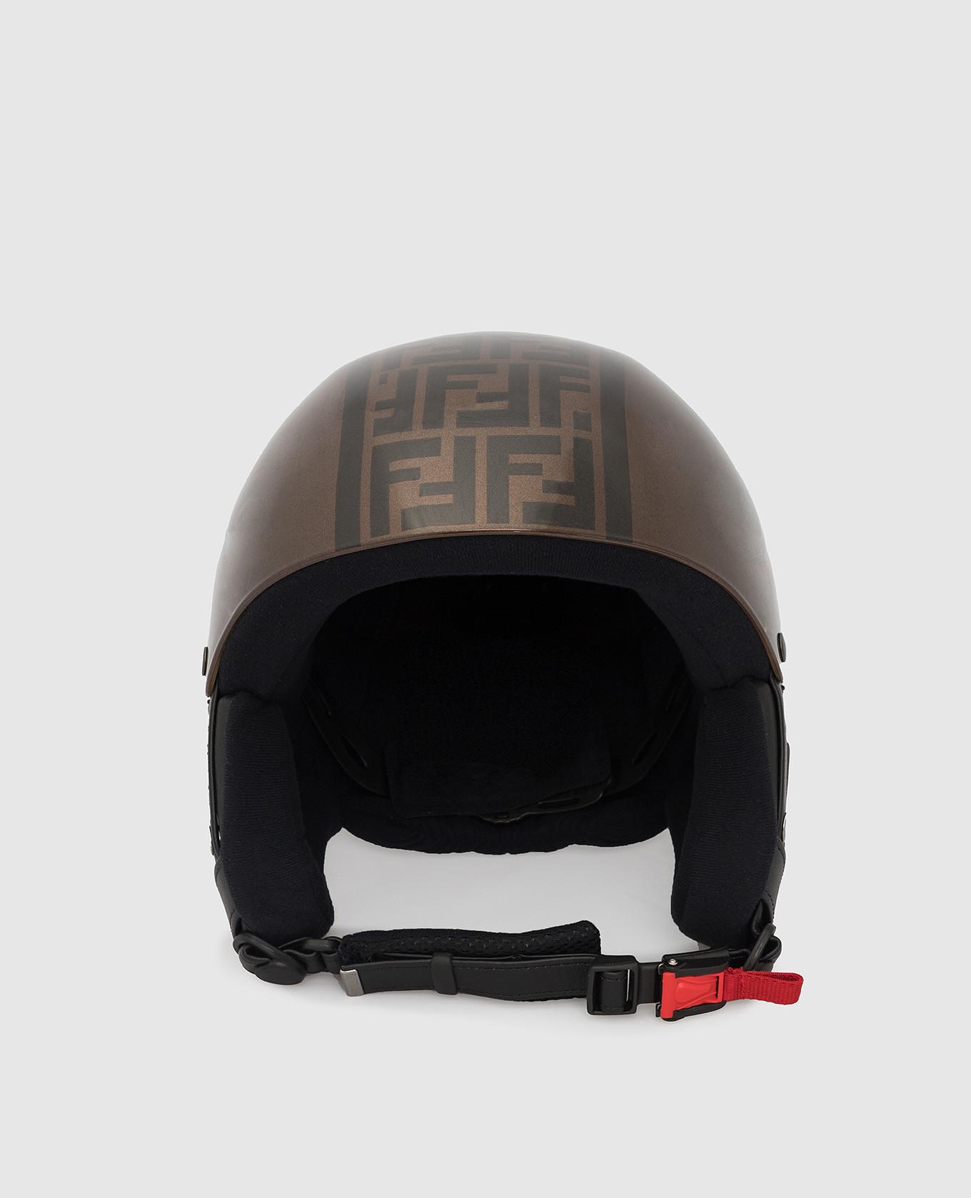 Шлем с узором FF Fendi