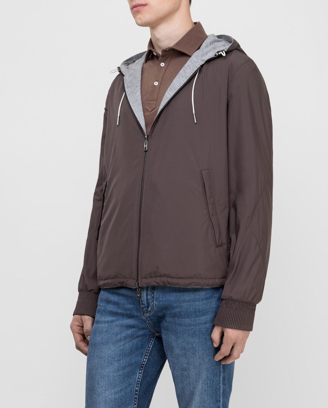 Ermenegildo Zegna Двухстороння куртка UST33S111B изображение 3
