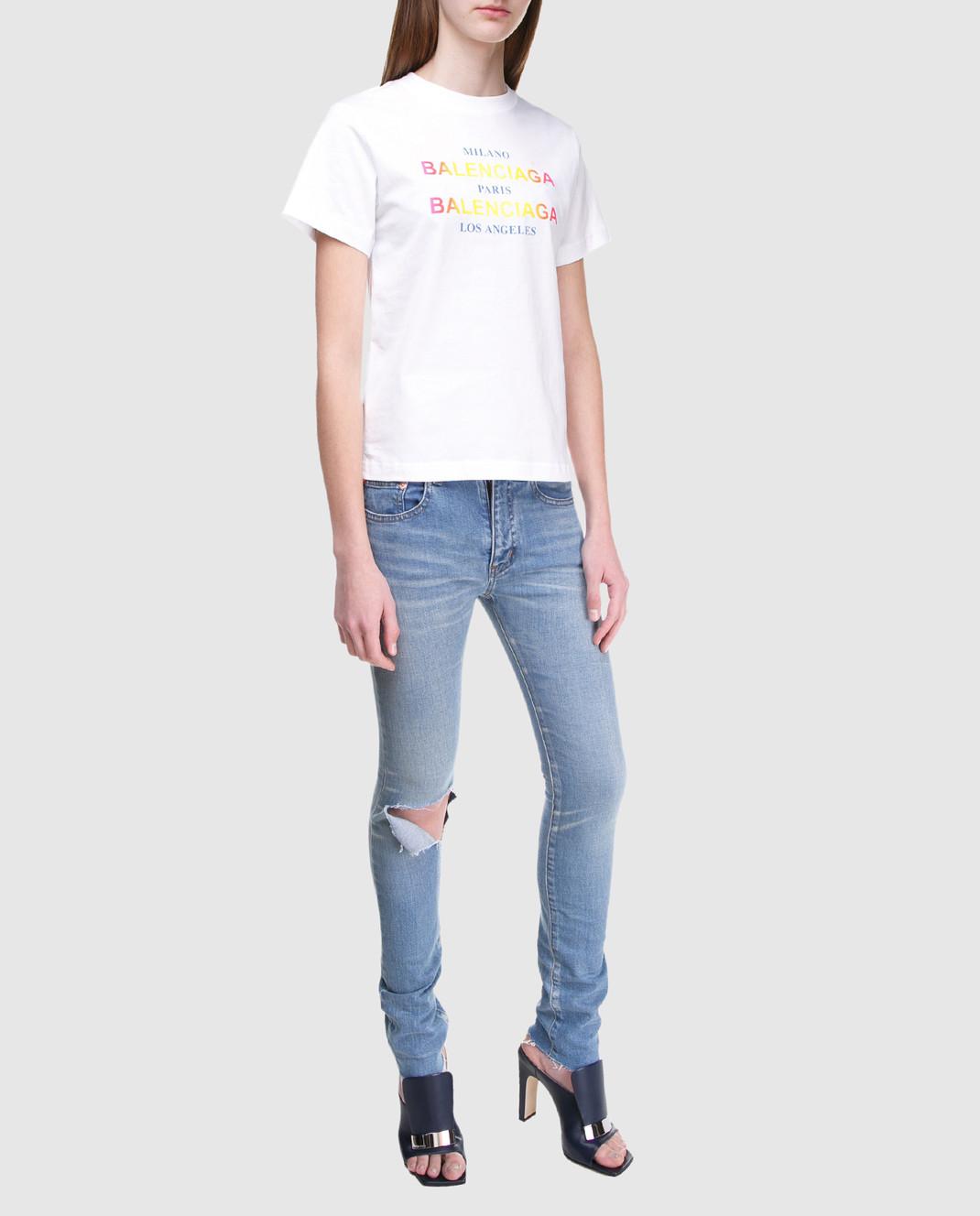 Balenciaga Голубые джинсы изображение 2
