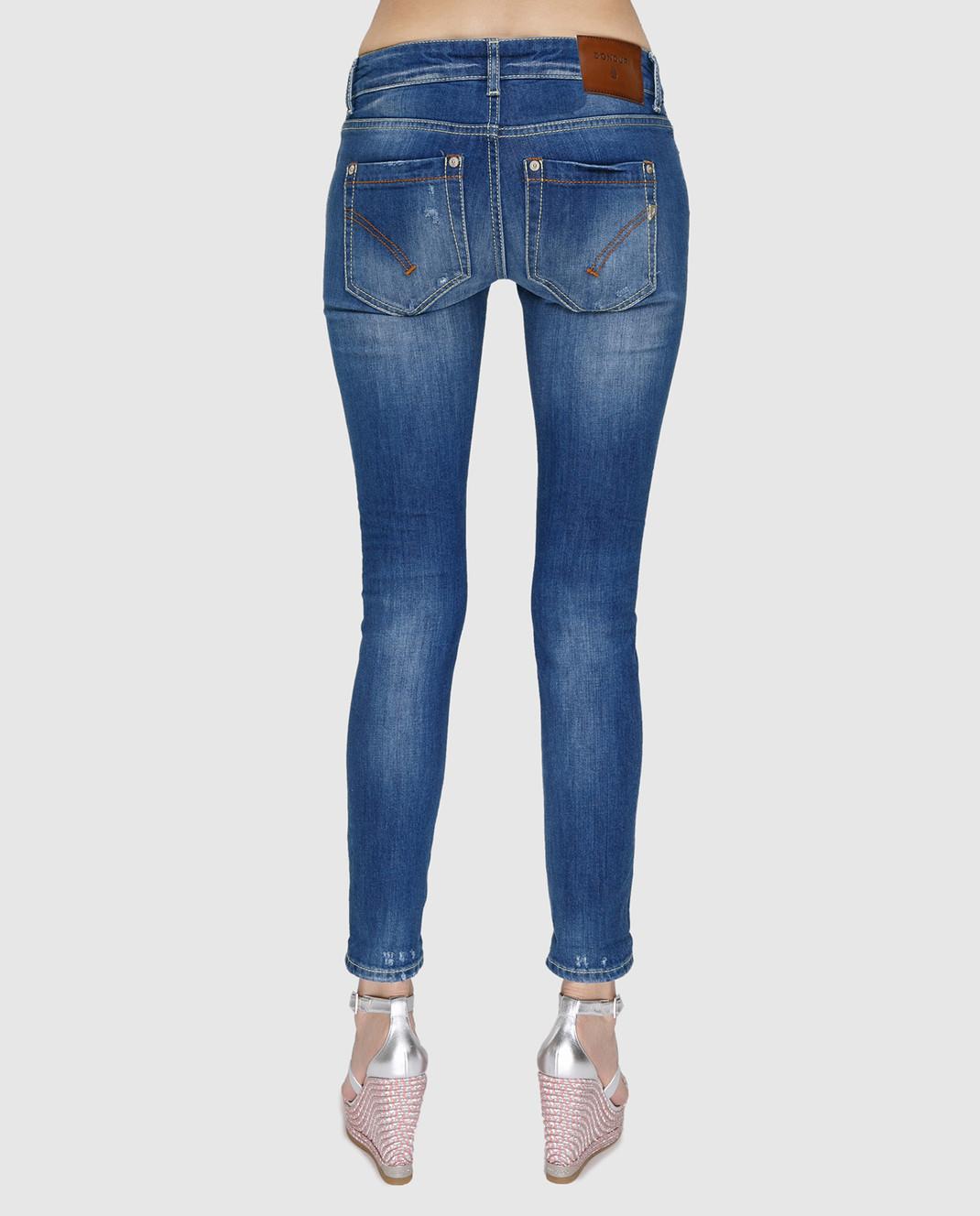 Синие джинсы Dondup P692DS153DO56 — Symbol