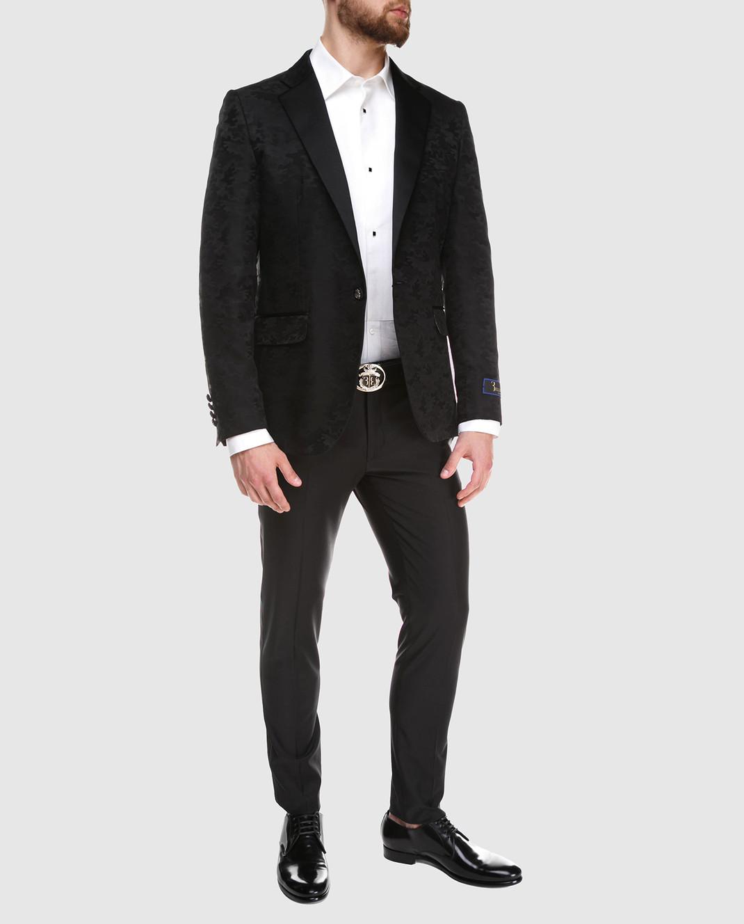 Billionaire Черные брюки MRT0320 изображение 2